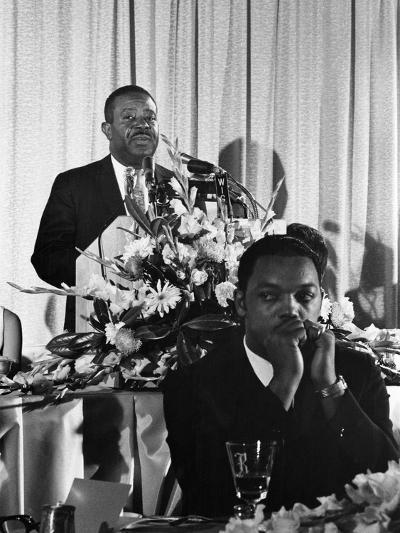 Ralph Abernathy, SCLC Convention - 1967-Howard Simmons-Photographic Print