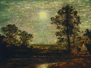 Untitled (Moonlit Landscape) by Ralph Albert Blakelock