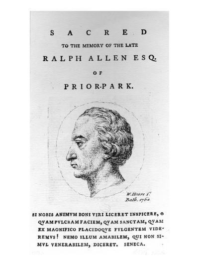 Ralph Allen, 1764-William, Of Bath Hoare-Giclee Print
