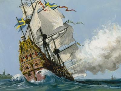 The Swedish Warship 'Vasa'