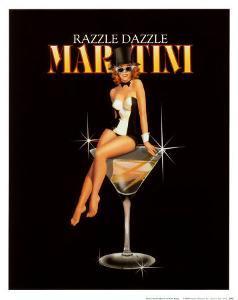 Razzle Dazzle Martini by Ralph Burch