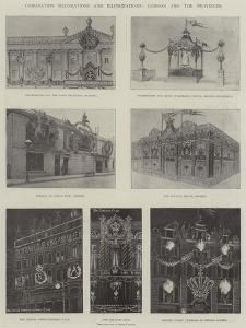 Coronation Decorations and Illuminations, London and the Provinces by Ralph Cleaver