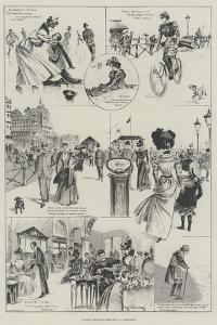 Easter Holiday Sketches at Brighton by Ralph Cleaver