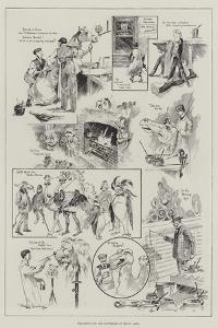 Preparing for the Pantomime at Drury Lane by Ralph Cleaver