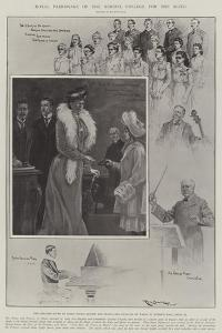 Royal Patronage of the Normal College for the Blind by Ralph Cleaver
