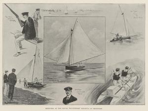 Sketches at the Naval Volunteers' Regatta at Brighton by Ralph Cleaver