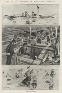 The Colliery Disaster at Donibristle, Fifeshire by Ralph Cleaver