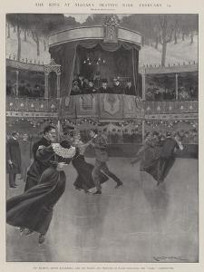 The King at Niagara Skating Rink, 13 February by Ralph Cleaver