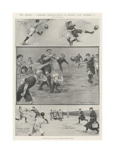 The Oxford V Cambridge Football-Match at Queen's Club, 11 December by Ralph Cleaver