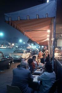 Bakery and Cafe Called Pupi's on Sunset Strip, Los Angeles, California, 1959 by Ralph Crane