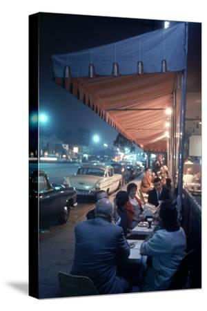 Bakery and Cafe Called Pupi's on Sunset Strip, Los Angeles, California, 1959