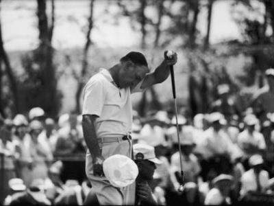 Ben Hogan U.S. National Open Golf Tournament Cherry Hills Country Club by Ralph Crane
