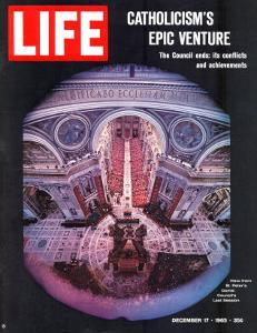 Catholicism's Epic Venture, Ending Assembly at Vatican II Ecumenical Council, December 17, 1965 by Ralph Crane