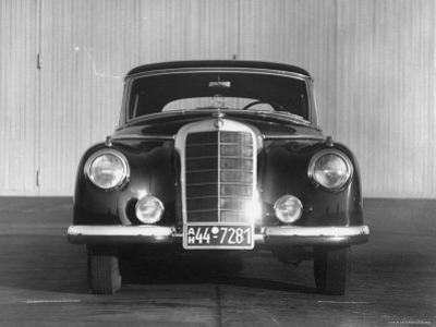 Front Shot of a German Made Mercedes Benz Automobile