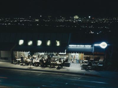Pupi's Combination Bakery and Sidewalk Cafe on Sunset Strip