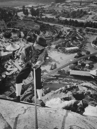 Replica of the Matterhorn, Climbed 9 Times Daily at Disneyland by Ralph Crane