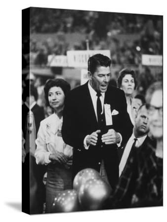 Ronald Reagan During the 1964 Repub. Convention