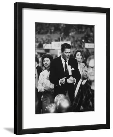 Ronald Reagan During the 1964 Repub. Convention