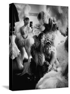 Showgirls Sitting in the Dressing Room of the Stardust Hotel by Ralph Crane