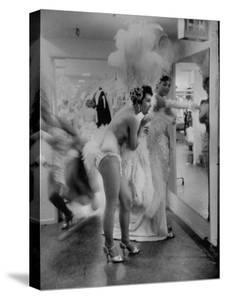 Showgirls Standing in the Dressing Room of the Stardust Hotel by Ralph Crane