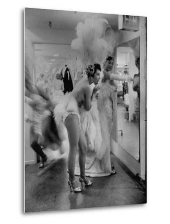 Showgirls Standing in the Dressing Room of the Stardust Hotel