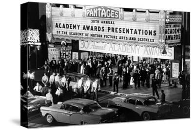 Valet Attendants Ready to Park Celebrities' Cars, 30th Academy Awards, Los Angeles, CA, 1958