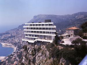 Vistaero Hotel Perched on the Edge of a Cliff Above Monte Carlo, Monaco by Ralph Crane