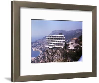 Vistaero Hotel Perched on the Edge of a Cliff Above Monte Carlo, Monaco