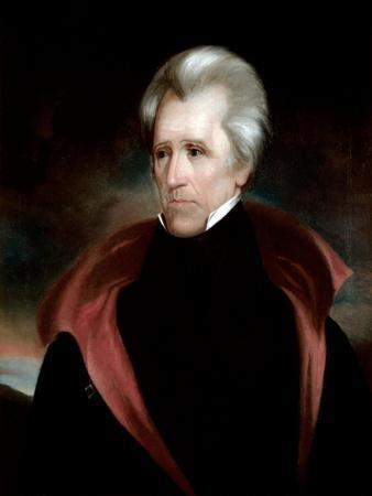 Portrait of Andrew Jackson, c.1837