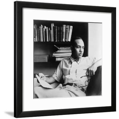 Ralph Ellison (1914-1994), Author of the Classic Novel, Invisible Man (1953), 1950--Framed Photo