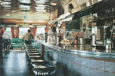 Ralph's Diner (no text) by Ralph Goings
