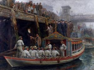 Barge Day, 1891 by Ralph Hedley