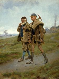 Going Home, 1888 by Ralph Hedley