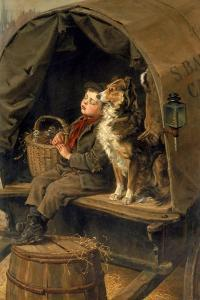 Last in Market or the Carrier's Cart by Ralph Hedley