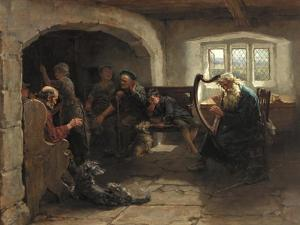 Lay of the Last Minstrel, 1890 by Ralph Hedley