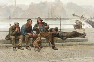 Out of Work, 1888 by Ralph Hedley