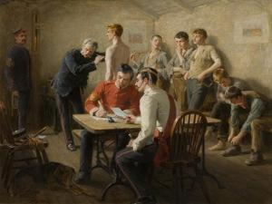 Passing the Doctor, 1896 by Ralph Hedley