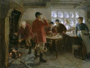 The Morning of the Hunt, 1906 by Ralph Hedley