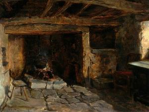 The Old Kitchen, 1893 by Ralph Hedley