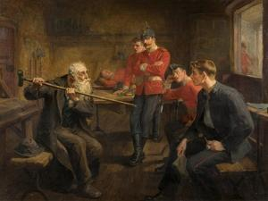 The Veteran, 1896 by Ralph Hedley