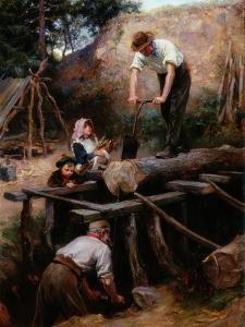 Woodsawyers, 1896 by Ralph Hedley