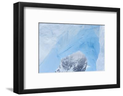 A Close Up of an Iceberg Near Cuverville Island, Antarctica