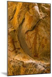 Aboriginal Rock Art Near Jar Island in the Kimberley Region of Western Australia by Ralph Lee Hopkins
