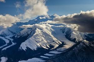 Muldrow Glacier in the Alaska Range by Ralph Lee Hopkins