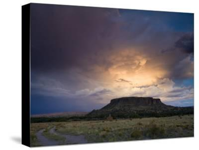 Storm Clouds over Sacred Ground at Black Mesa