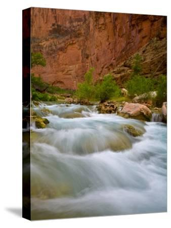 Travertine Cascades Along Havasu Creek, Grand Canyon National Park