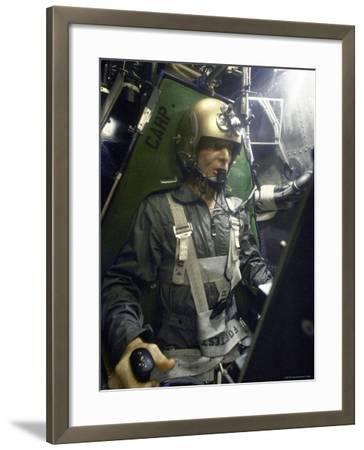 American Astronaut Scott Carpenter Training Prior to the Mercury Mission