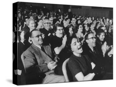"An Audience Watching the Play, ""Man in a Dog Suit"""