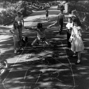 Children's Games by Ralph Morse
