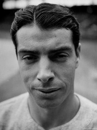 "Close Up of ""Yankee Clipper"" Joe DiMaggio"